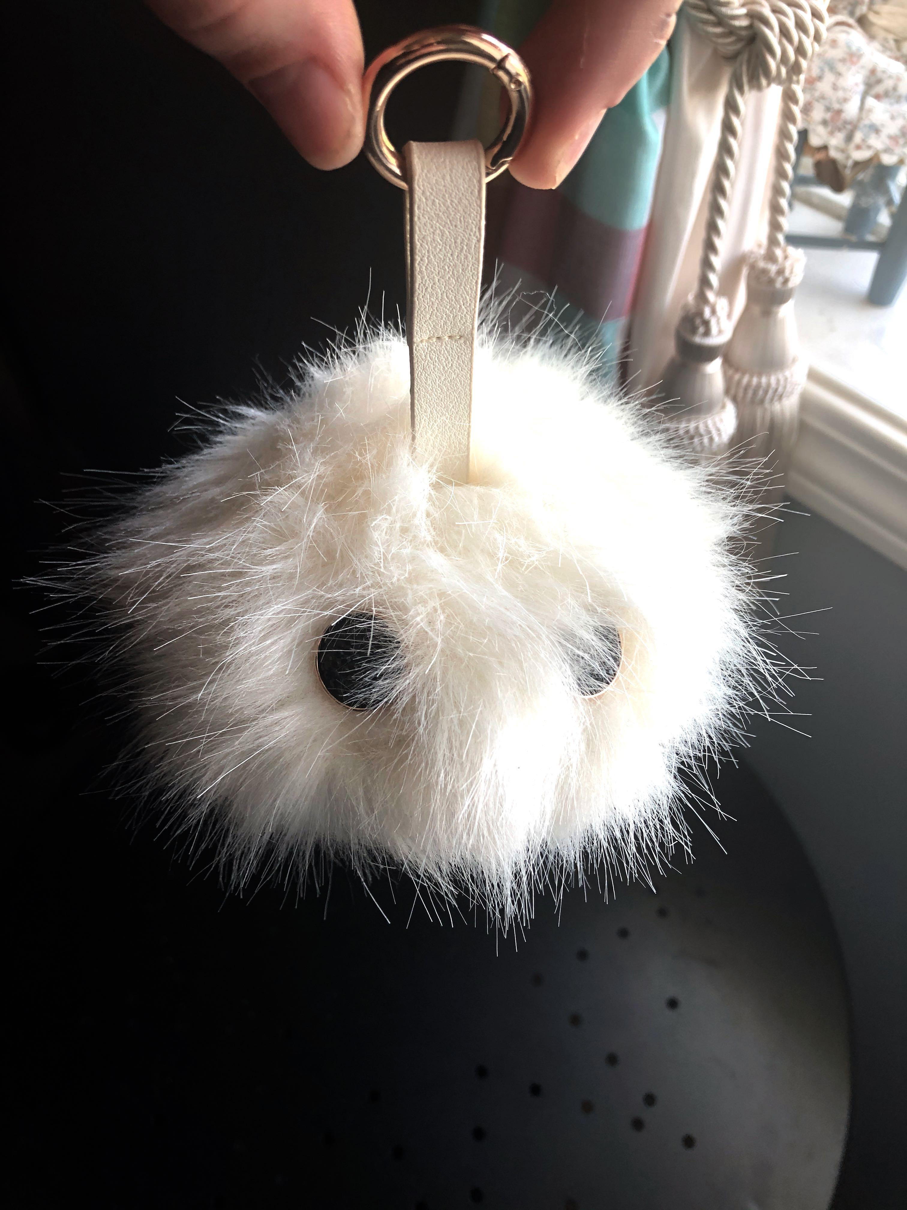 Fluffy portable charger
