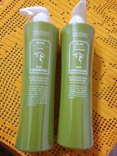 Nat. Chapt. Olive hair shampoo and conditioner repair treatment. Brand new still in packaging.