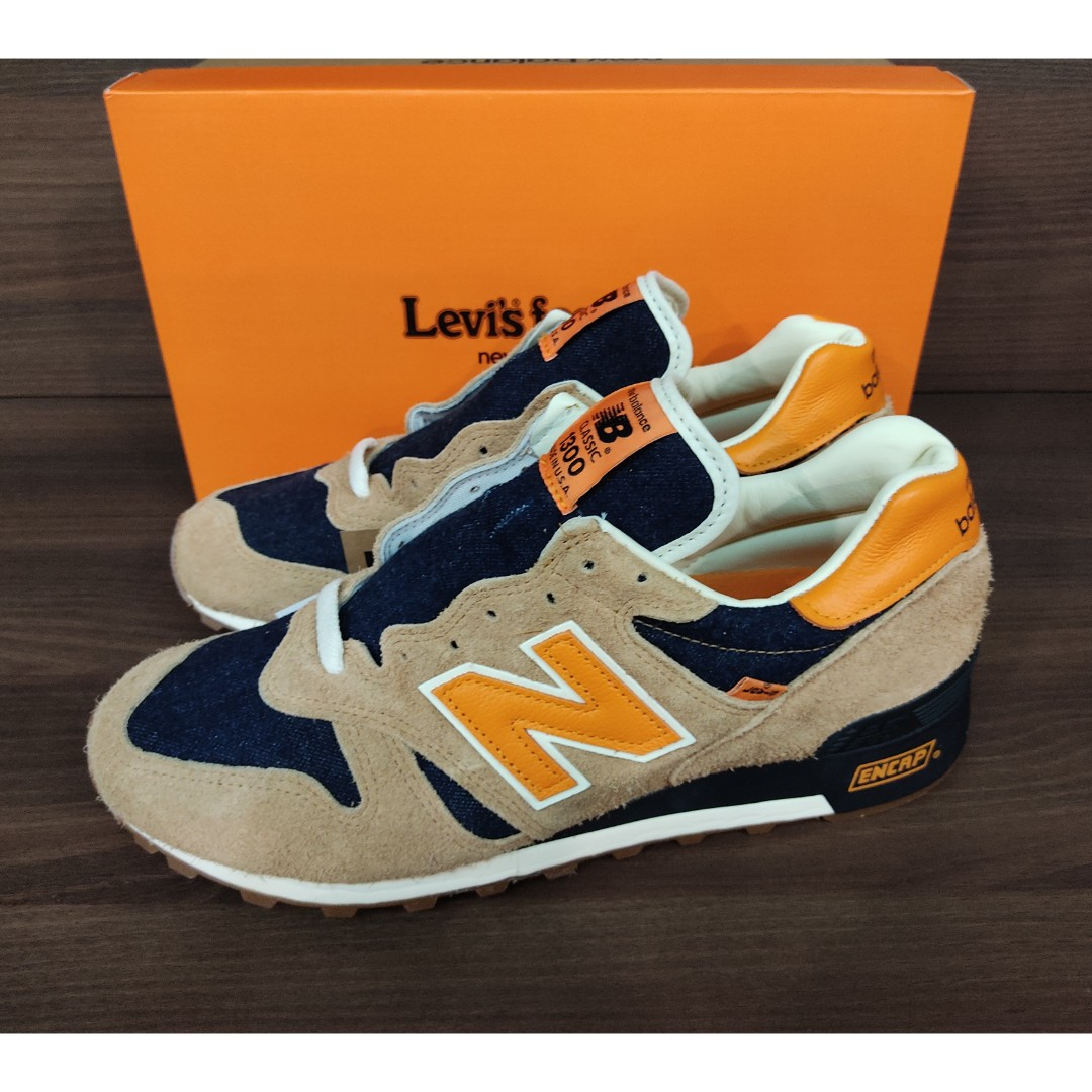 uno A menudo hablado máquina  New Balance 1300 X Levis, Men's Fashion, Footwear, Sneakers on Carousell