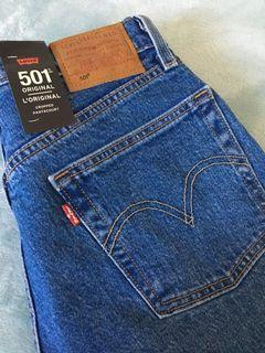 NEW* Levi's 501 cropped jeans