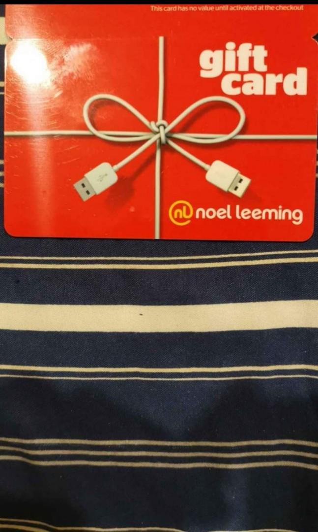 Noel leeming gift card
