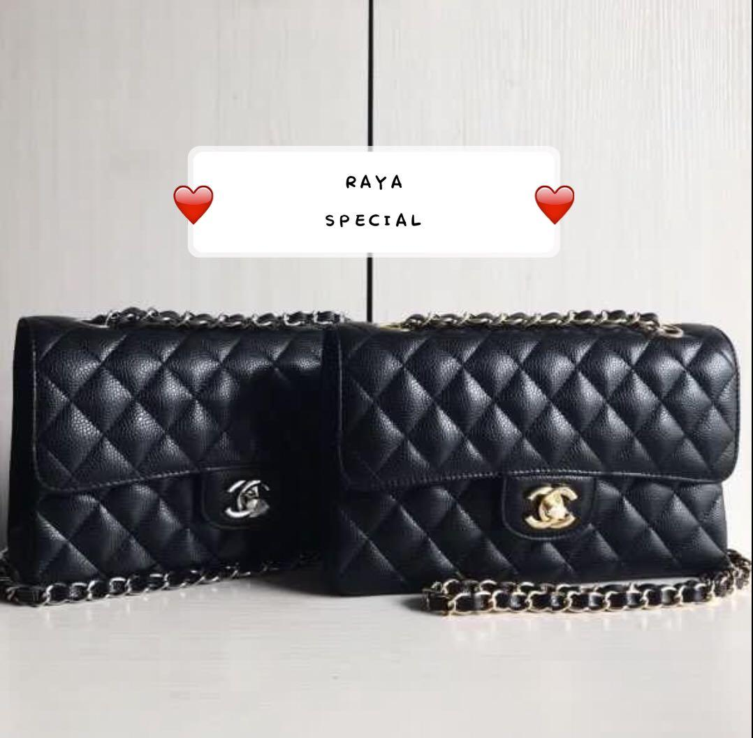 RAYA Special Channel Small CF Classic Flap Bag 23 (Limited Time Frame)(OP : MYR1k+)