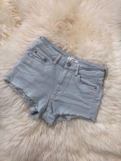 Size 25 Aritzia High waisted Shorts