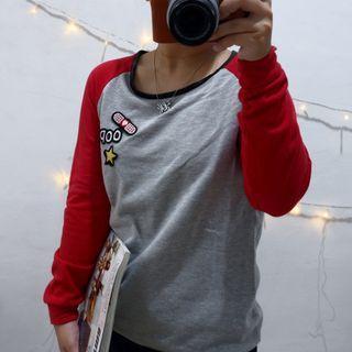 Sweatshirt Raglan Patch