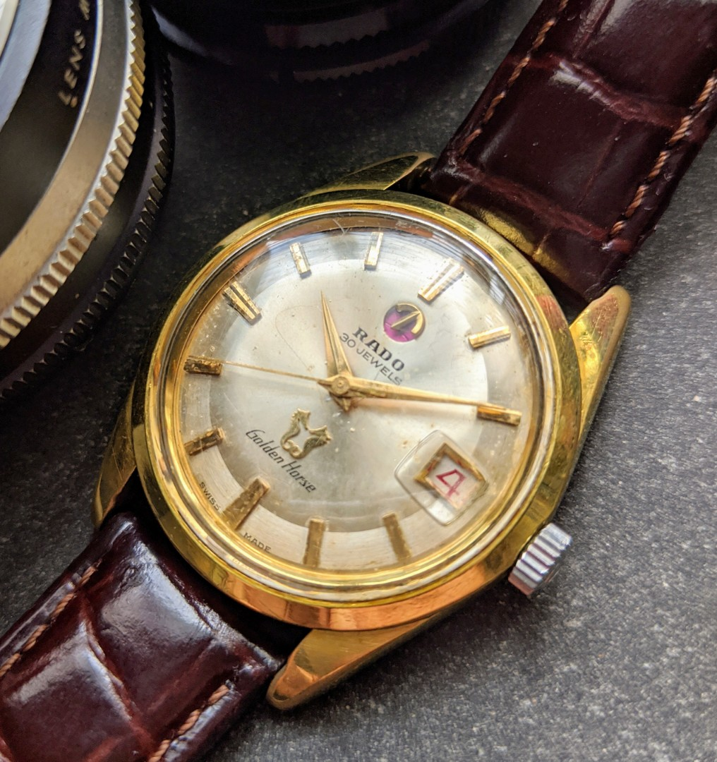 Vintage Rado Golden Horse Automatic Watch Luxury Watches On Carousell