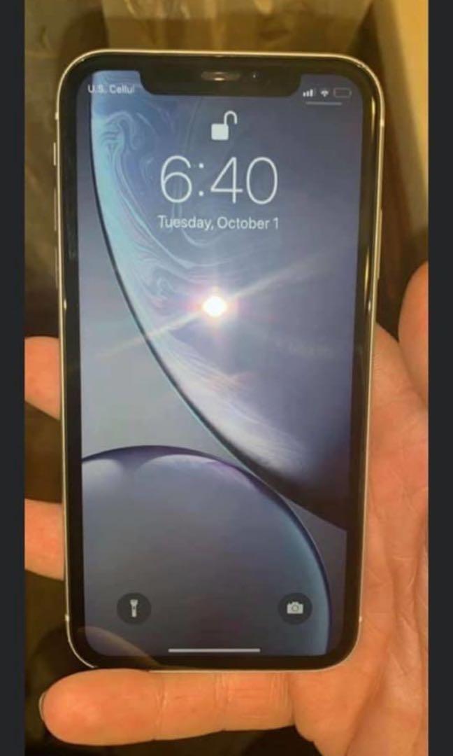 White iPhone XR Unlocked 64GB