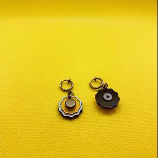 黑膠唱片手工耳環