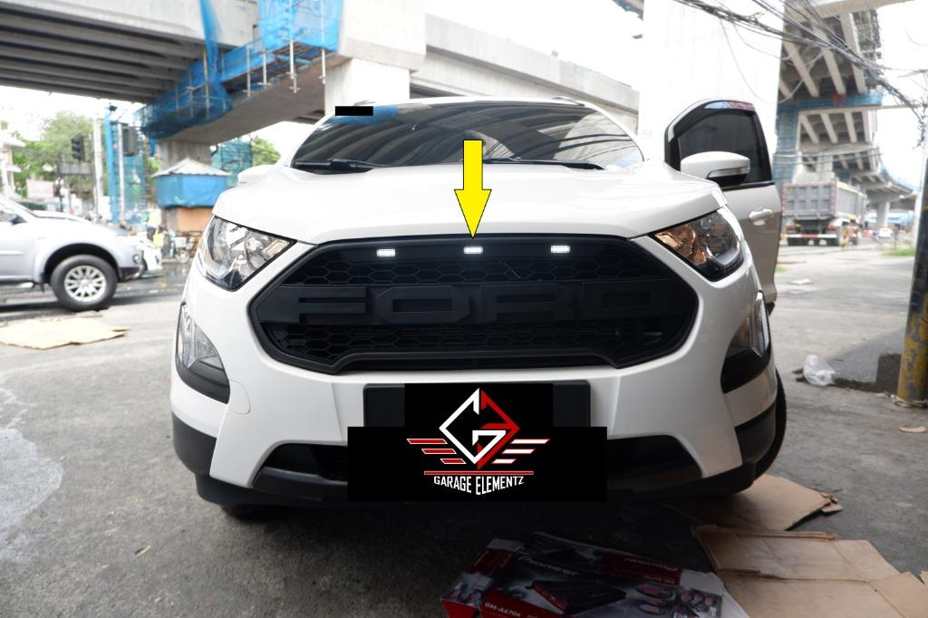 2019 To 2020 Ford Ecosport Raptor Front Grill With Led Black Car Parts Accessories Body Parts And Accessories On Carousell