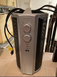 【嘉儀】即熱式電膜電暖器,暖和/舒適/ 溫暖(9成新)
