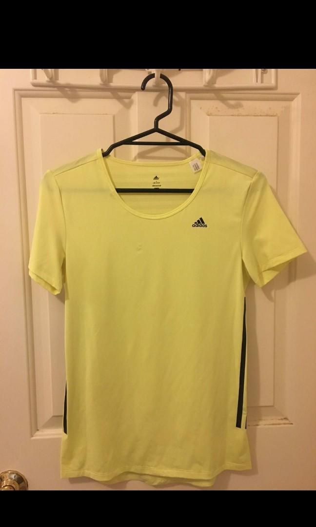 Adidas yellow top #swapnz