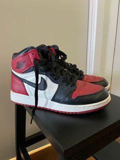 AJ1 BRED TOES GS SIZE 6