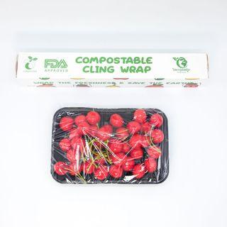 Biodegradable and compostable cling wrap 30cm x 30 M