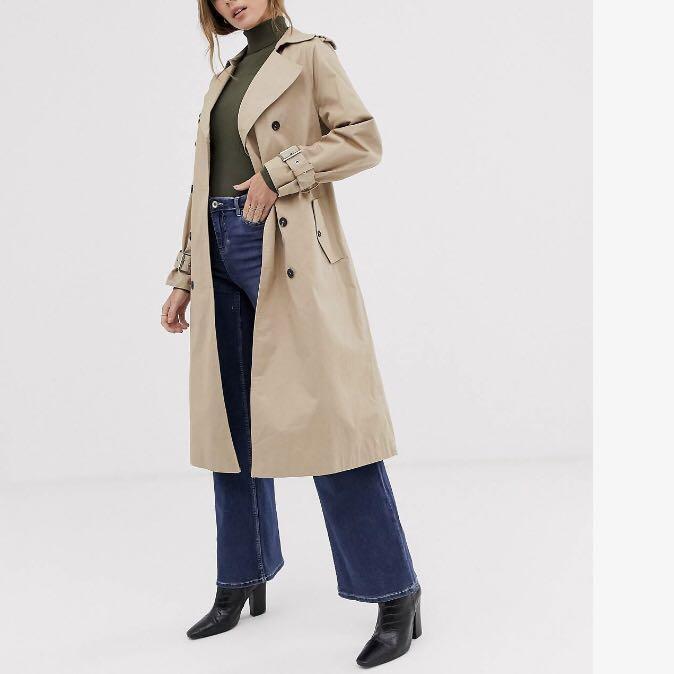 BRAND NEW Asos trench coat