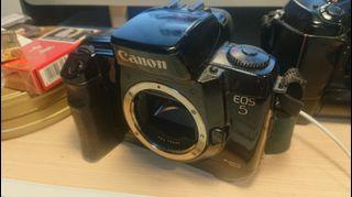 Canon Eos5 眼控對焦底片機