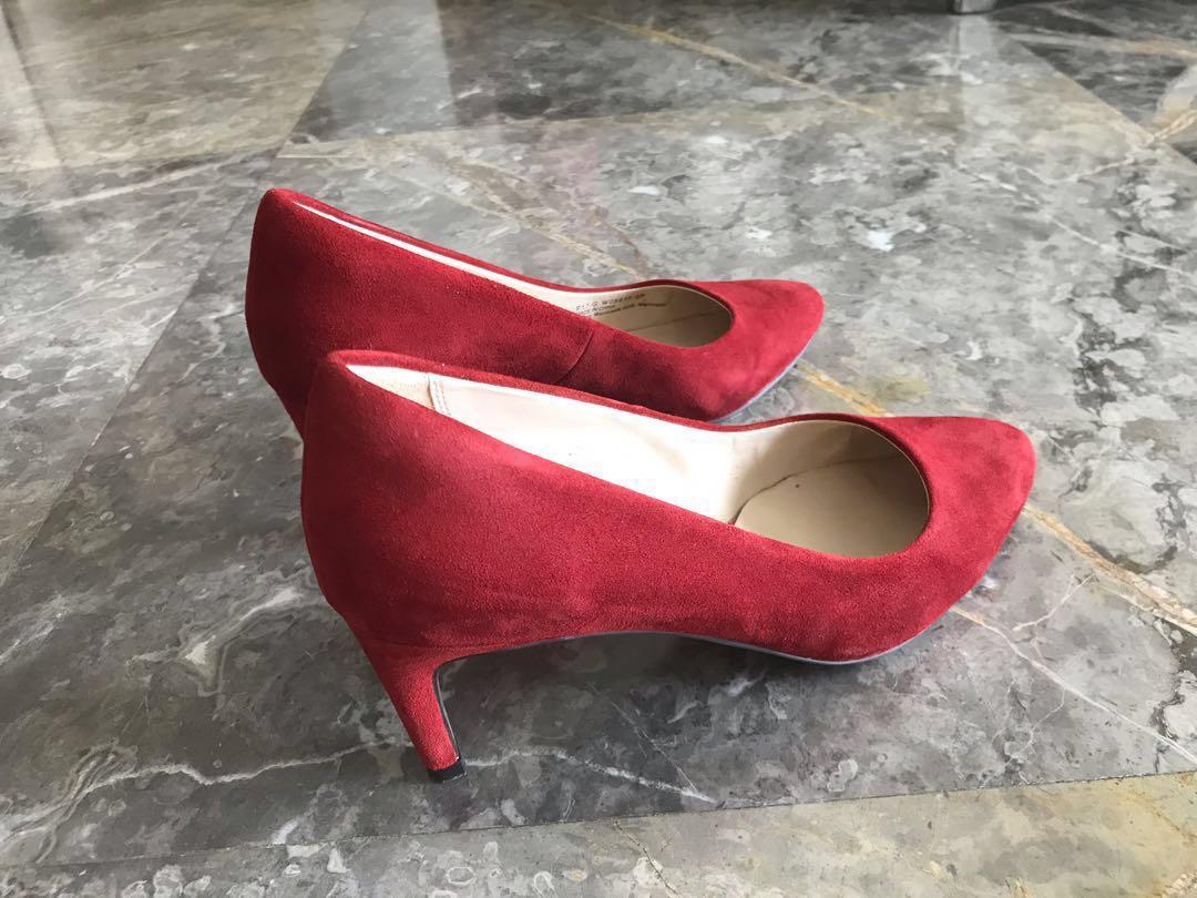 Cole Haan red high heels, Women's