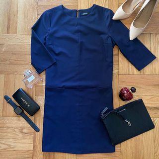Elegant Navy Blue Canifa Dress