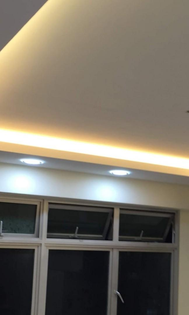 False Ceiling Light Cove Drop Ceiling Furniture Others On Carousell