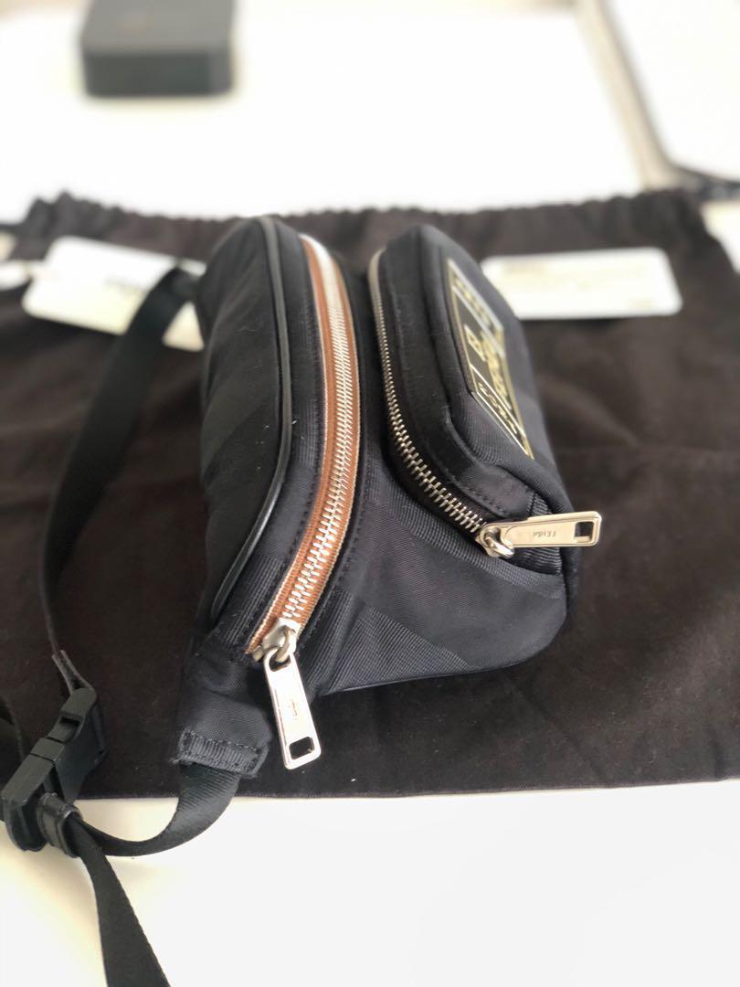 Fendi Logo Patch Belt Bag