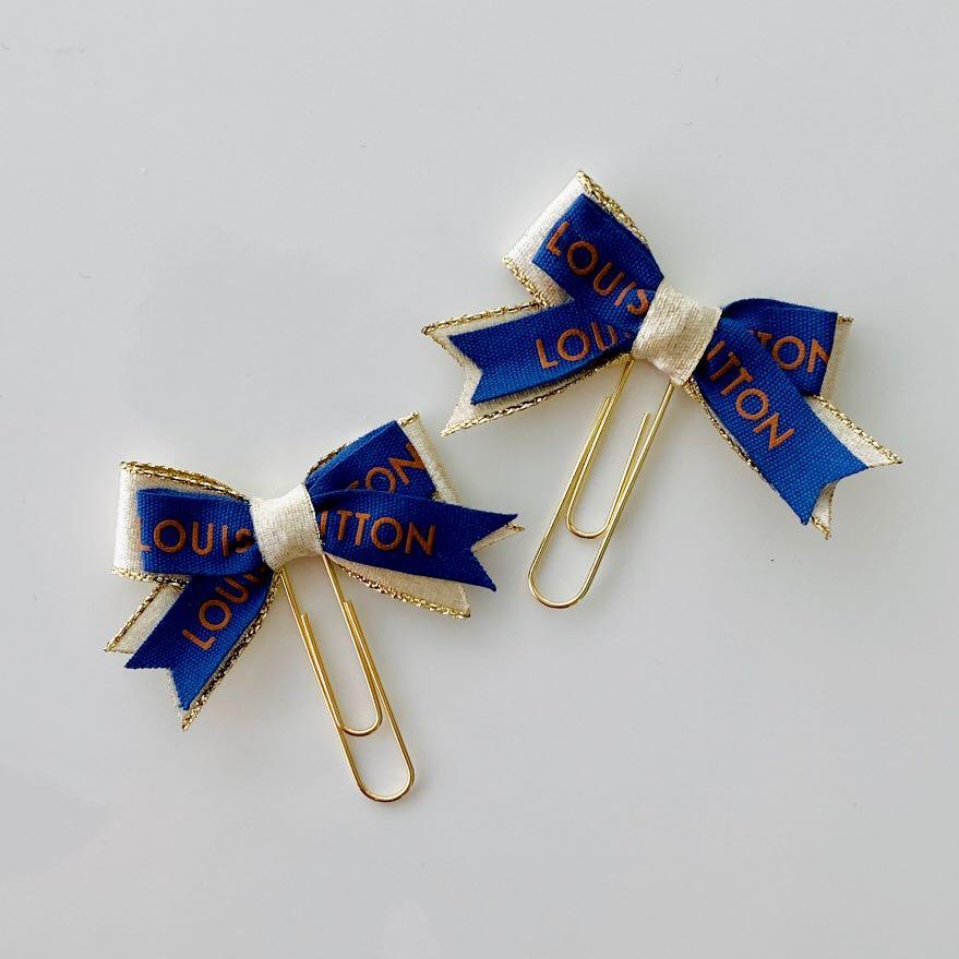 Two Designer Planner Clip Bows