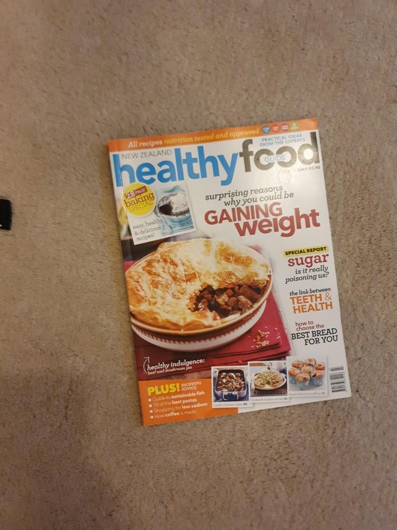 Healthy food magazine