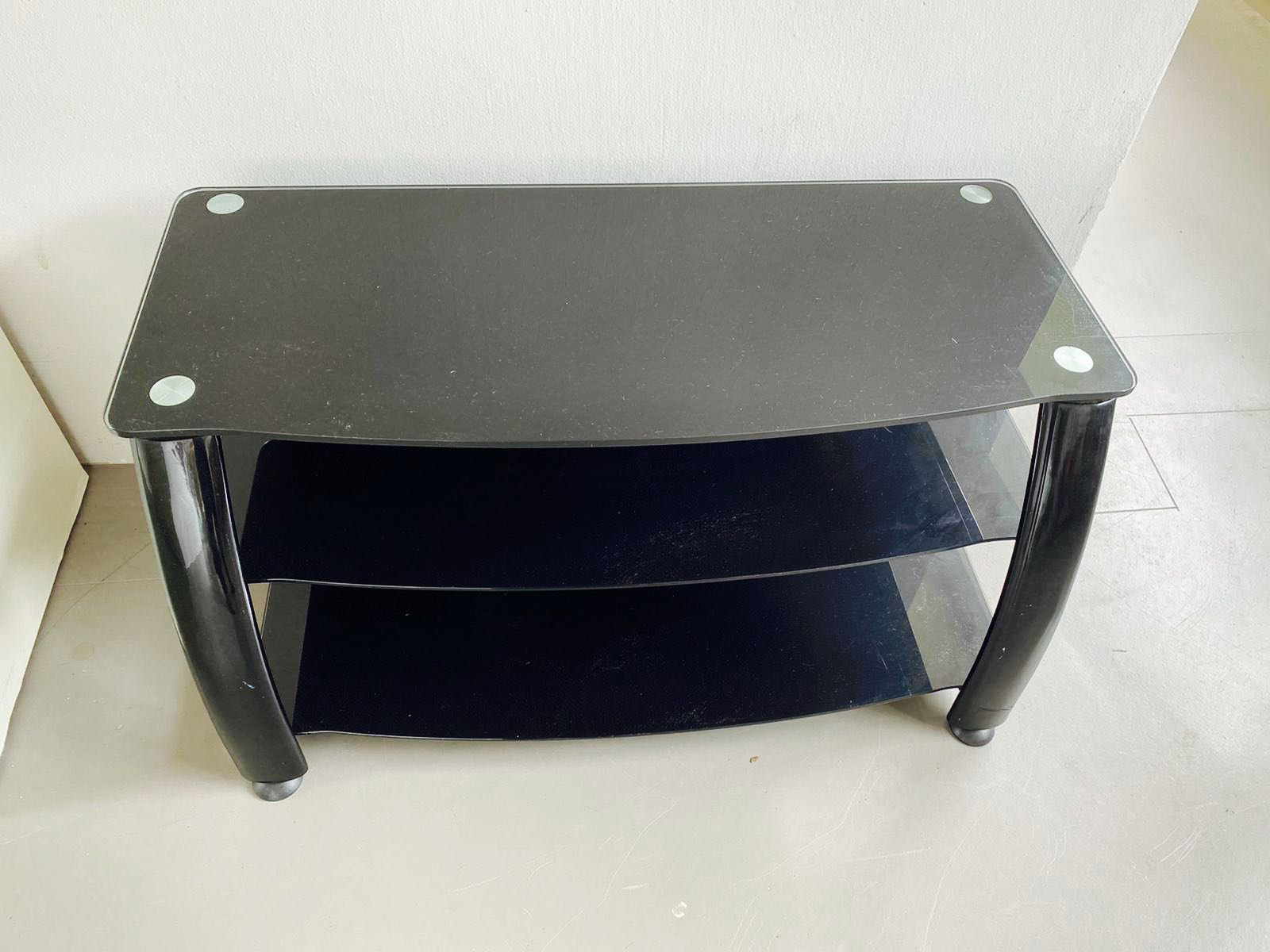 Heavy Duty Coffee Table With Tampered Glass Top Furniture Tables Chairs On Carousell