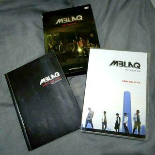 [K-POP ALBUM PRELOVED] MBLAQ - MONALISA STYLE FIRST SPECIAL DVD   ORIGINAL IMPORT FROM SOUTH KOREA