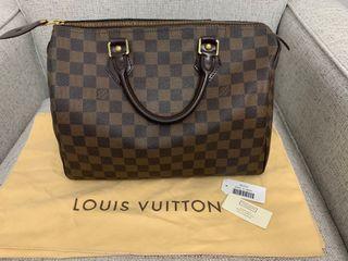 Authentic Louis Vuitton Speedy 30 - Damier Ebene