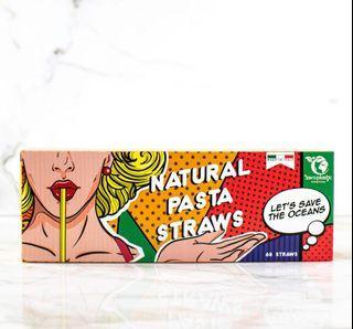 Natural Pasta Straws Made in Italy