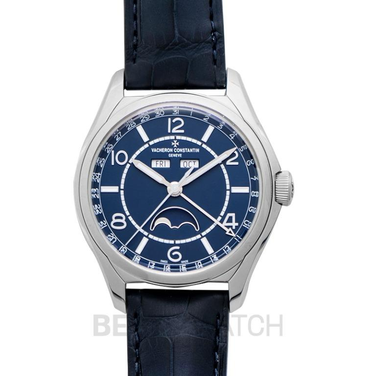 [NEW] Vacheron Constantin FiftySix Complete Calender Stainless Steel Automatic Blue Dial Men's Watch 4000E/000A-B548