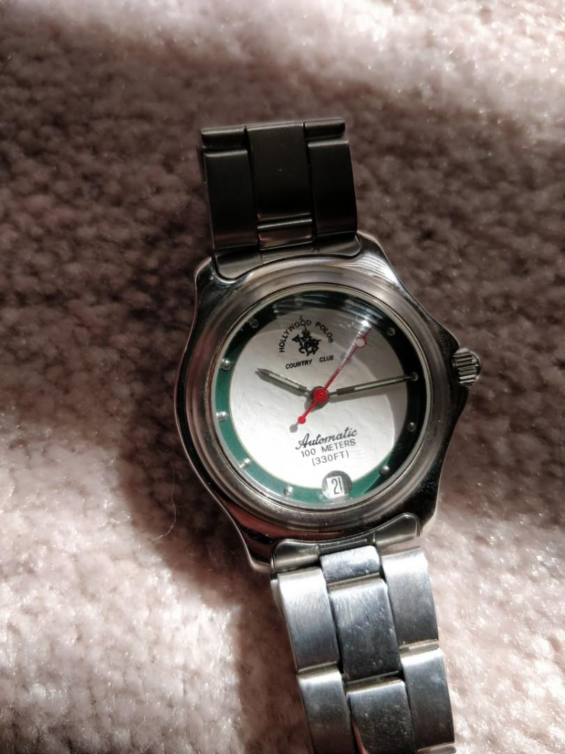 Polo automatic watch , battery is not required