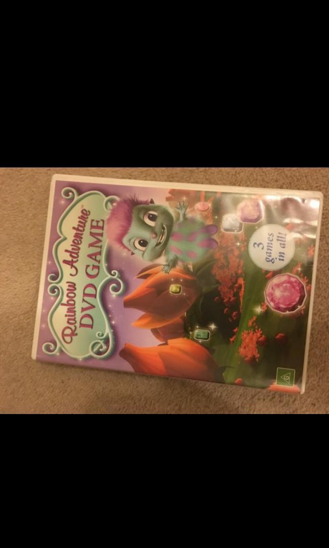 Rainbow magic dvd game barbie