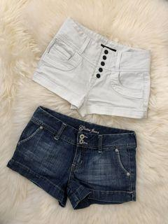 Size 24 Guess Shorts
