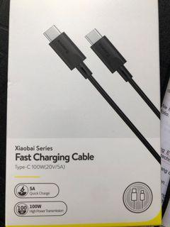Type-C Fast Charging Cable 100W 20V 5A
