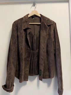 VINTAGE DANIER suede jacket