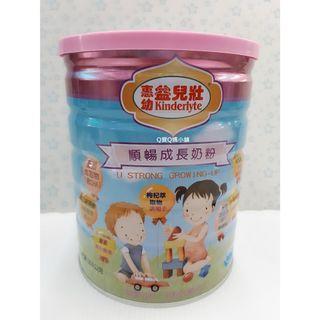 惠幼益兒壯 順暢成長奶粉