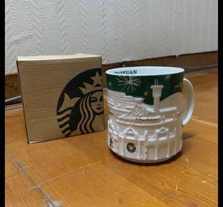 全新 星巴克 聖誕城市杯 桃園&高雄