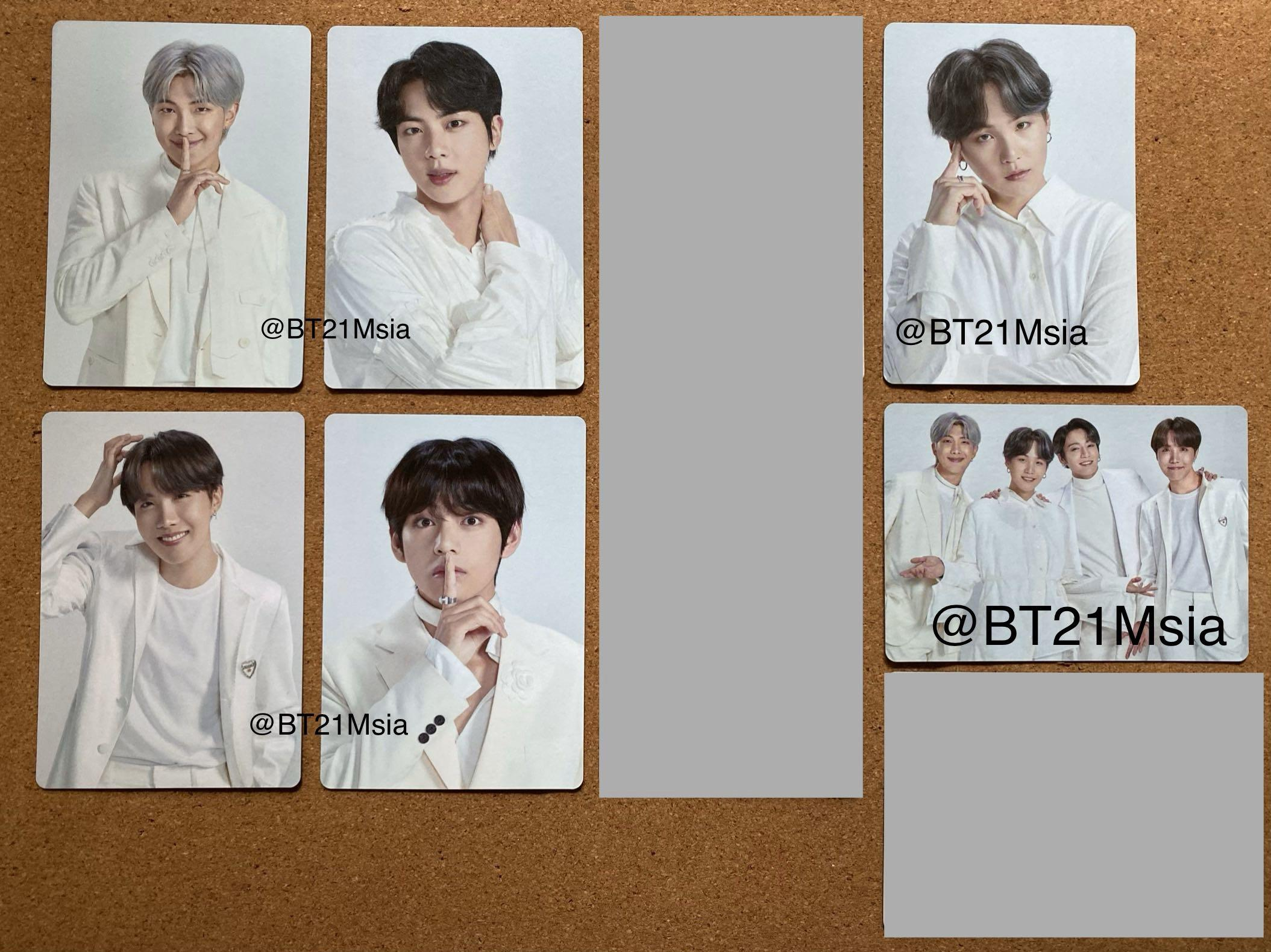 [ WTS ] BTS Official MD Map Of The Soul Tour Mini Photo Card