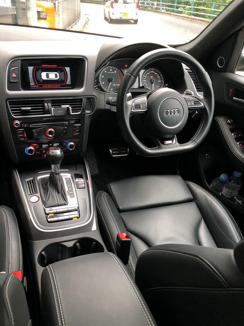 Audi SQ5 3.0 TFSI quattro tiptronic (A)