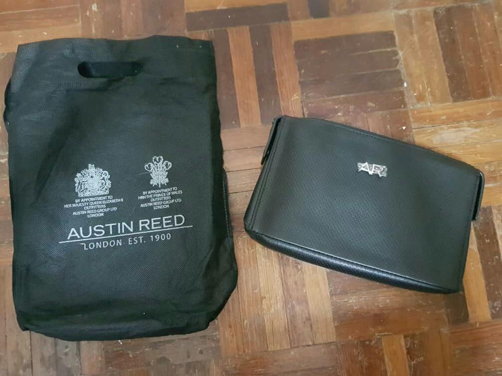 Austin Reed Leather Men Clutch Bag Wallet Men S Fashion Bags Wallets Wallets On Carousell