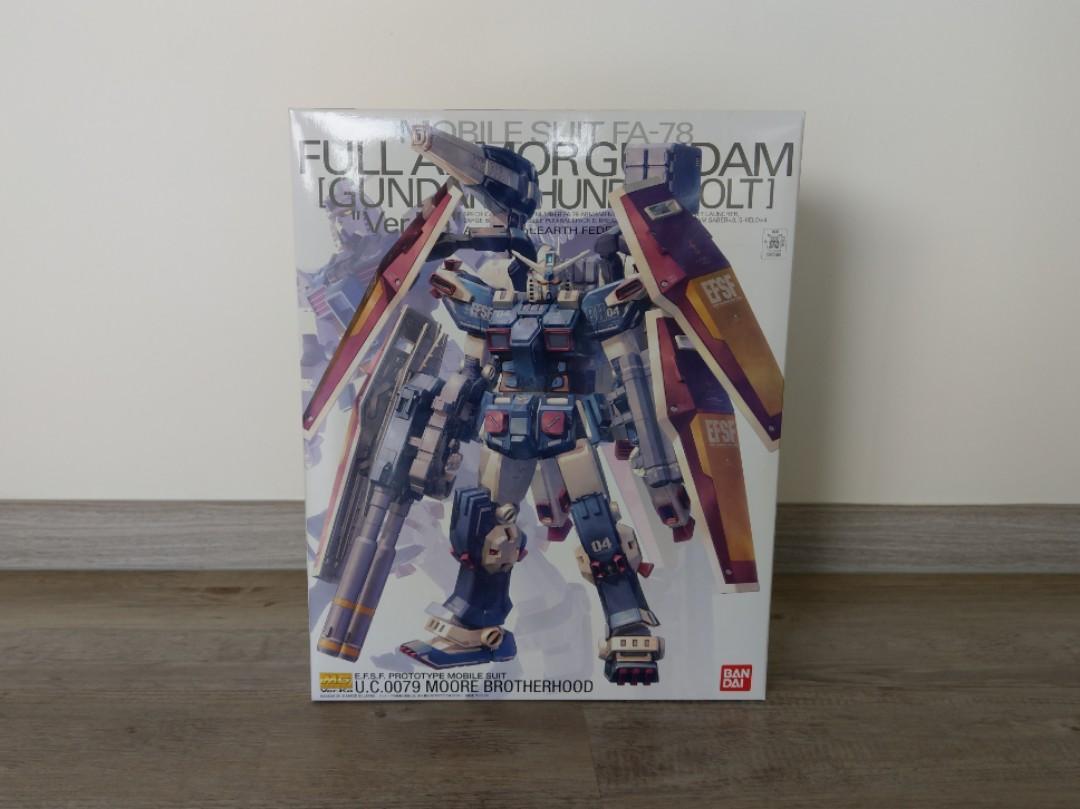 Bandai Mg Ver Ka Fa 78 Full Amor Gundam Thunderbolt Toys Games Bricks Figurines On Carousell
