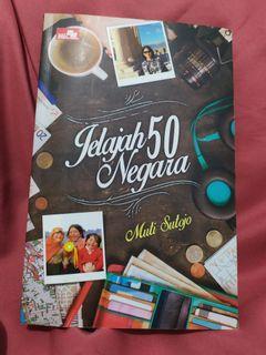 Buku travelling - jelajah 50 negara