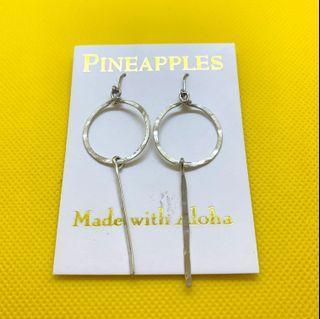手打波紋感純銀耳環 handmade wavy silver earrings 🌟限時特價🌟