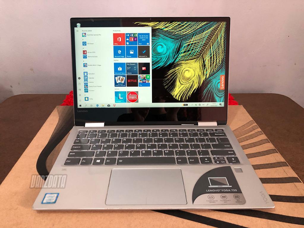 Lenovo Yoga 720 13ikb Touchscreen Intel I7 8550u Ram 16 Gb Ssd 1 Tb Nvme Elektronik Komputer Laptop Di Carousell