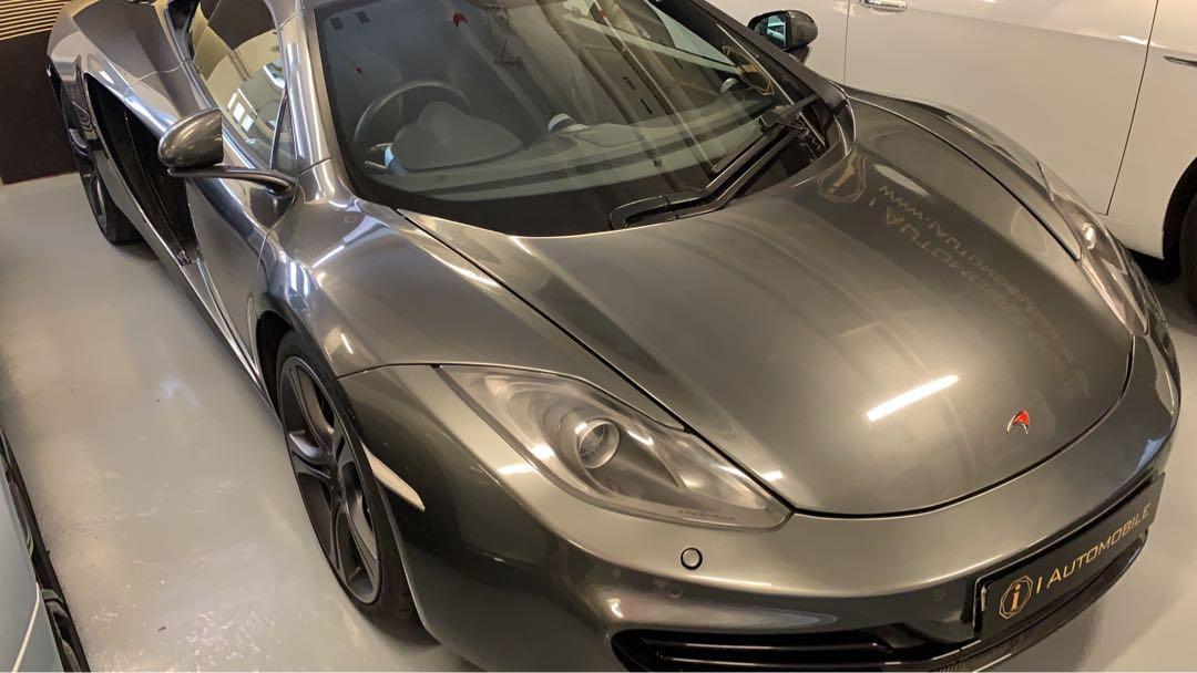 McLaren 12C Coupe (A)
