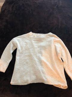 Open Back Knotted Sweater