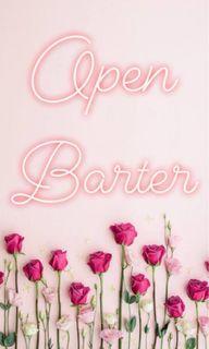 OPEN BARTER!!