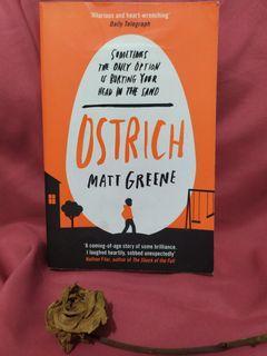 Buku impor- Ostrich by Matt Greene