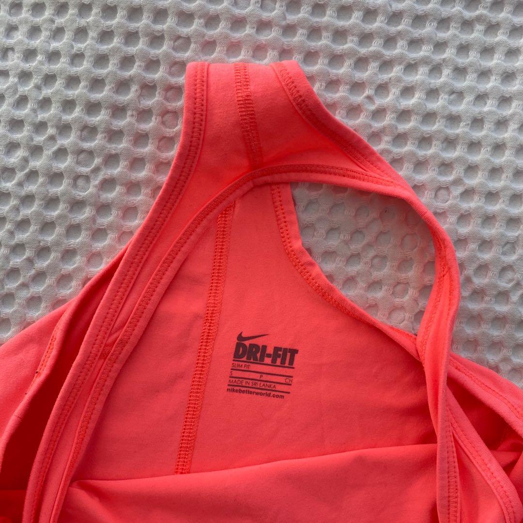 Pink Nike Dri-Fit Singlet
