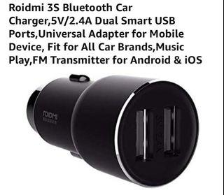 Roidmi 3s Bluetooth Music Transmitter and Charger