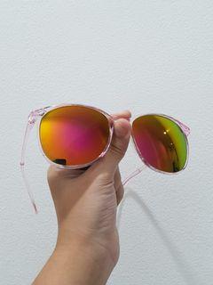Sunglasses Pink Holo
